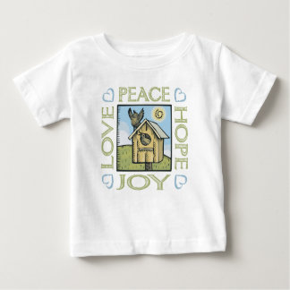 Love, Peace, Hope, Joy Baby T-Shirt