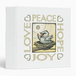 Love, Peace, Hope, Joy Binder