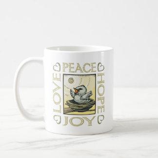 Love, Peace, Hope, Joy Coffee Mug