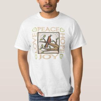 Love, Peace, Hope, Joy T-Shirt