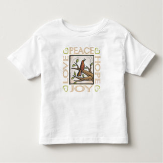 Love, Peace, Hope, Joy Toddler T-shirt