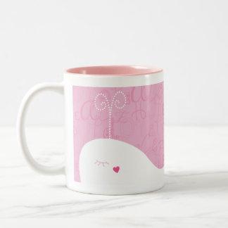 Love Peace Hope Whale Mug