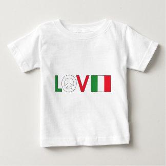 Love Peace Italy Infant T-shirt