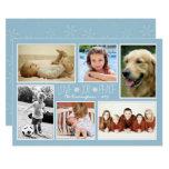 Love Peace Joy Family Photos Christmas Card