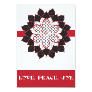 Love, Peace, Joy IV Card