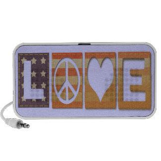 Love, Peace, Liberty Speaker