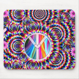 Love & Peace_ Mouse Pad