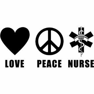 Love Peace Nurse bag