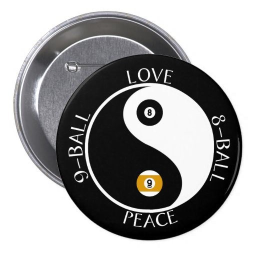 Love Peace pool buttons