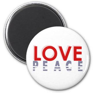 Love Peace prints Magnet