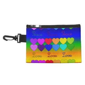 Love, Peace, Rainbows Accessories Bags