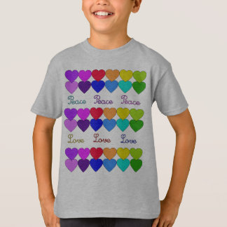 Love, Peace, Rainbows T-Shirt
