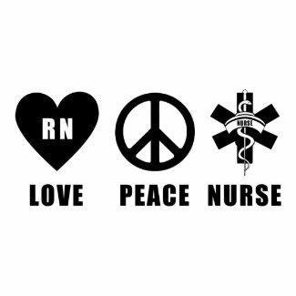 Love Peace RN bag