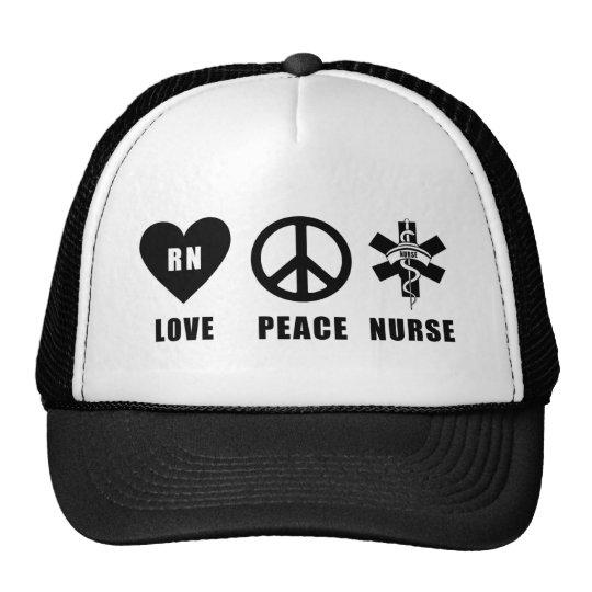 Love Peace RN Trucker Hat