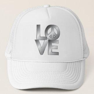 LOVE=Peace Trucker Hat