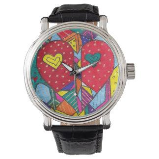 Love & Peace Wrist Watch