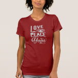 Love, Peace & Yoga Tshirts