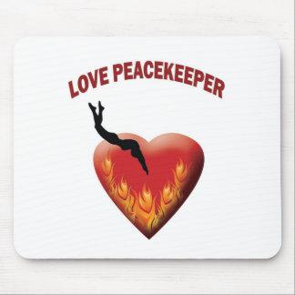 Love Peacekeeper Mousepads