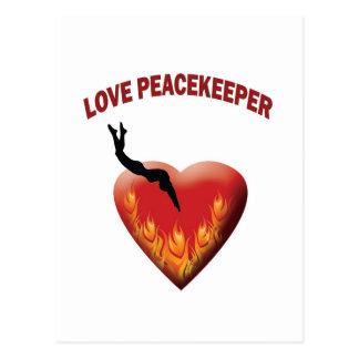 Love Peacekeeper Postcard