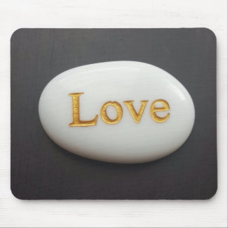 Love Pebble Mouse Mat