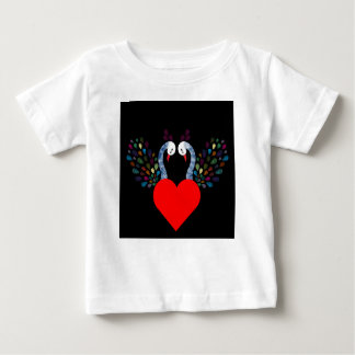 love pecock 3 baby T-Shirt