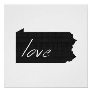 Love Pennsylvania Poster