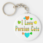 Love Persian Cats Keychain