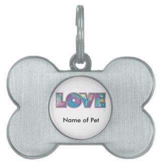 LOVE PET ID TAG