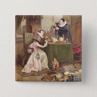 Love Philtre, 1885 (w/c heightened with white) Pinback Button