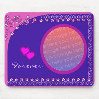 Love Photo Frame Mousepad