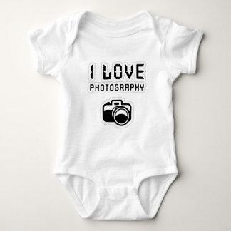 Love Photography Gift Baby Bodysuit