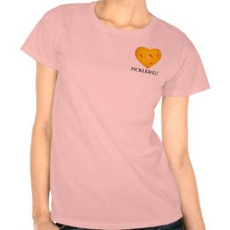 Love Pickleball Heart T-Shirt