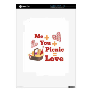 Love Picnic Decal For The iPad 2