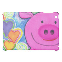 Love Pig iPad Case