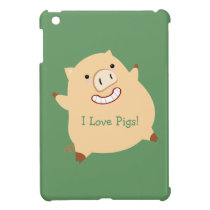 Love Pigs (fat piggy) iPad Mini Case