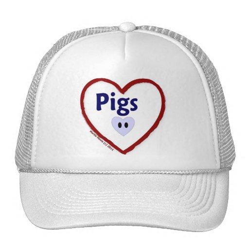 Love: Pigs - Hat