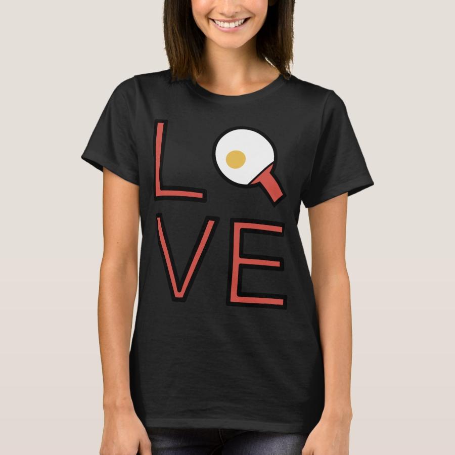 Love Ping Pong Super Cute And Fun Love Gift Idea T-Shirt - Best Selling Long-Sleeve Street Fashion Shirt Designs