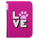 LOVE - PINK CASES FOR KINDLE