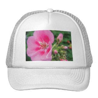 Love Pink Geranium Hat