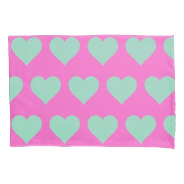 McTiffany Tiffany Aqua Love Pink Graduation Celebration Pink Pillowcases