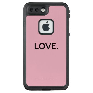 Love. Pink Iphone case