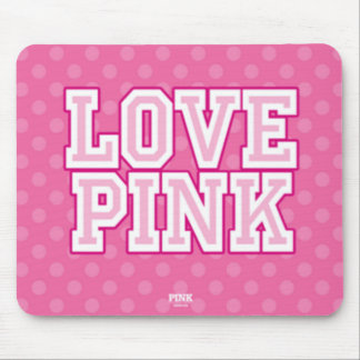 Love Pink Mousepad