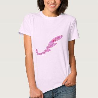 LOVE  Pink  P I N K   Flower Garlands Tee Shirt
