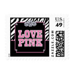 Love Pink Postage