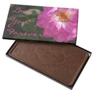 Love Pink Rose Milk Chocolate Bar