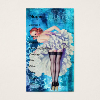 Love Pinup Business Card