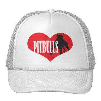 Love Pitbulls Trucker Hat