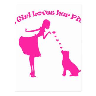 love pitty postcard