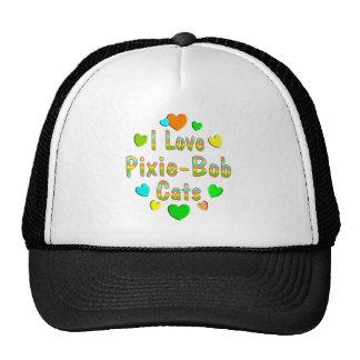 Love Pixie-Bob Cats Mesh Hats