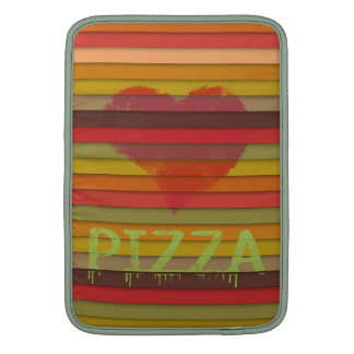 Love pizza - pizza is love, pizza is life sleeves for MacBook air